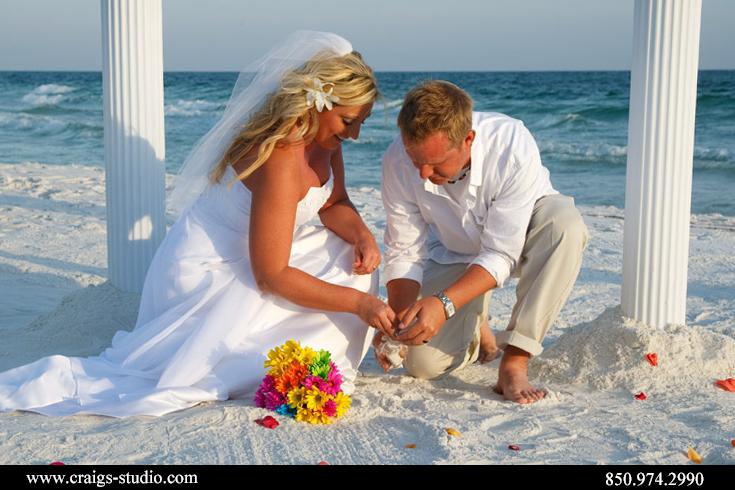 Sand unity ceremony