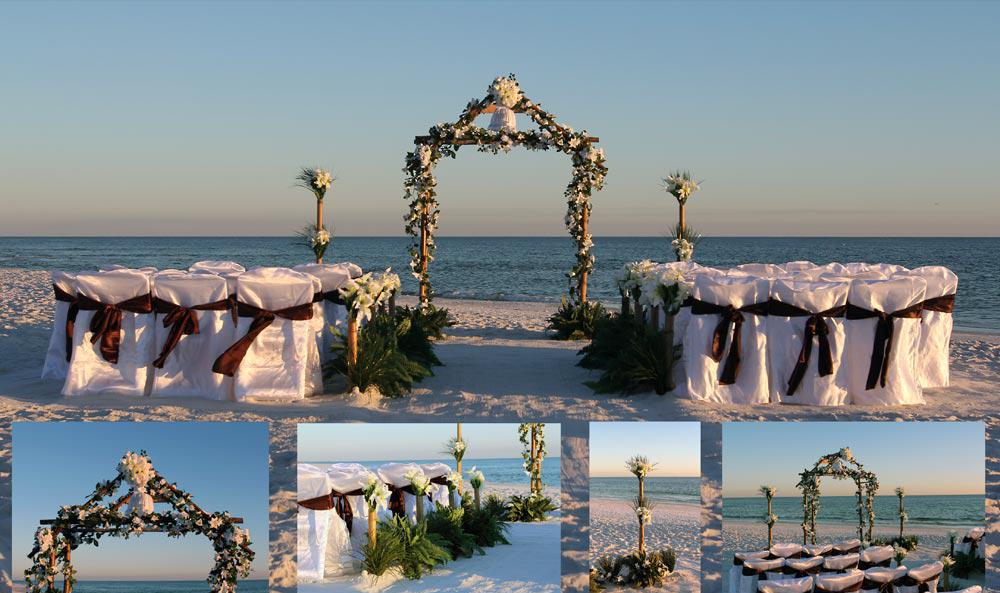 Destin, Florida beach wedding
