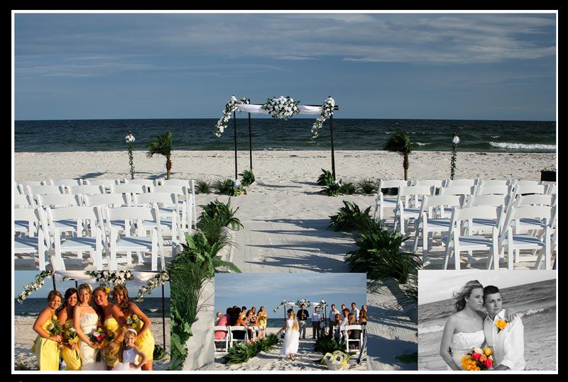 Destin Fl beach wedding