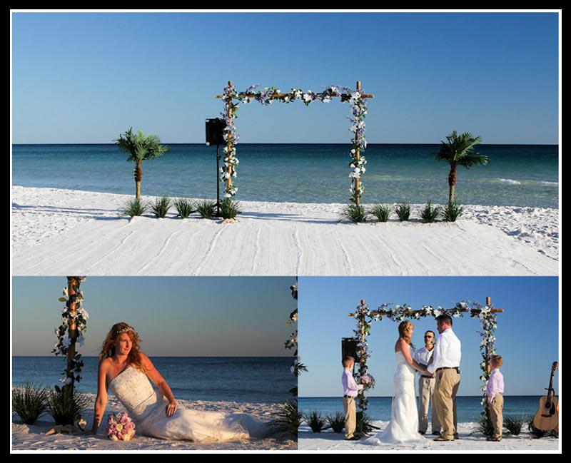 Hwy 30A South Walton County beach wedding