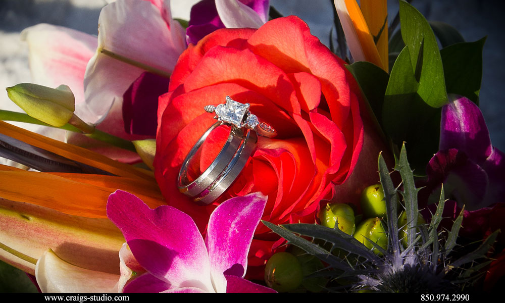 wedding rings web Destin Fl Beach Weddings